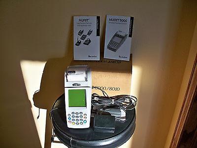 Verifone Nurit 8000s Wireless Handheld Credit Card Terminal