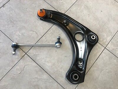 FOR NISSAN MICRA K13  10-16 ONE FRONT LOWER WISHBONE SUSPENSION ARM & LINK LH