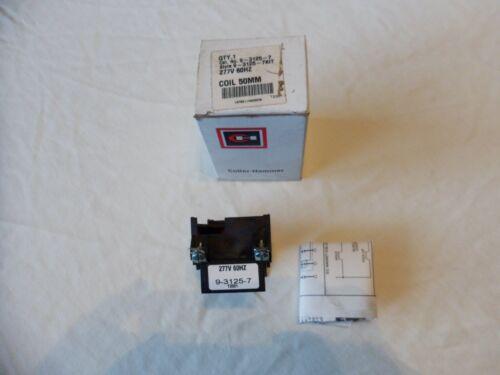 NEW Eaton Cutler Hammer 277V 9-3125-7 Coil Contactors & Starters 9-2356-7 NIB