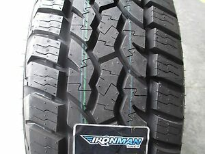 4 New LT225/75R16 Ironman All Country AT Tires 225 75 16 2257516  A/T 75R 10 Ply