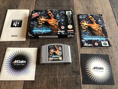 Shadow Man . N64 . Nintendo. game . boxed