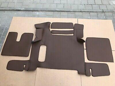 LKW- Kunstleder Fußmatten+Tunnelabdeckung passend für MAN TGX Fußmatten Für Lkw