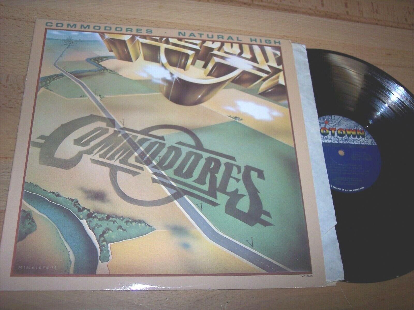 VG 1978 Commodores Natural High LP Album - $4.99