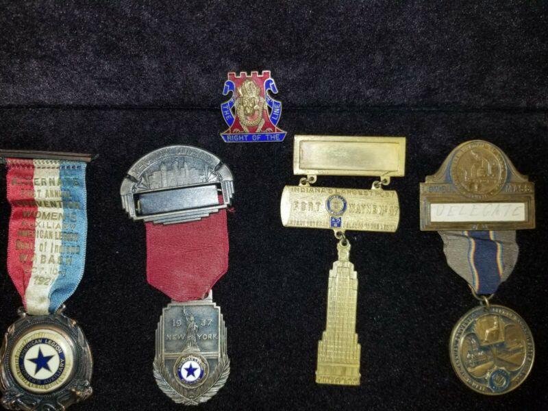 Lot Of Vintage American Legion Medals