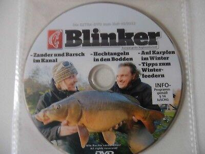 Angel - DVD Blinker Heft 02/2013,  Angeln auf Hecht im Bodden, Zander uvm. gebraucht kaufen  Magdeburg