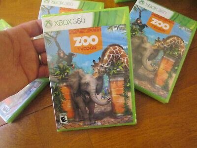 Zoo Tycoon XBOX 360 BRAND NEW FACTORY SEALED  US EDITION comprar usado  Enviando para Brazil