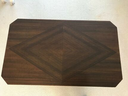 Art Deco inlaid side table