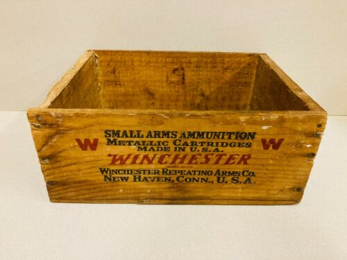 Vintage Winchester Super Speed 30 Remington 1000 Cartridge Shipping Crate Box