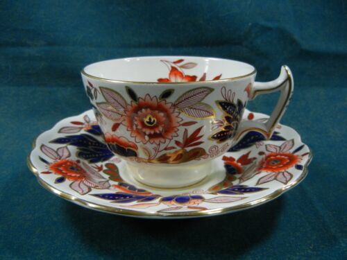 Booths Dovedale A8044 Rust and Blue Imari Cup and Saucer Set(s)