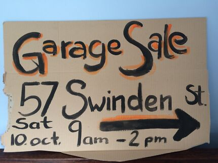 Garage Sale - this Saturday Downer North Canberra Preview