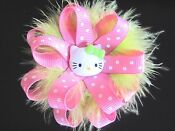 Hello Kitty Pink Hair Bow