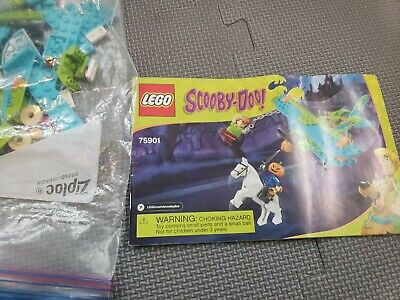 Lego Scooby Doo 75901 Mystery Plane Adventures plane only complete no minifigure