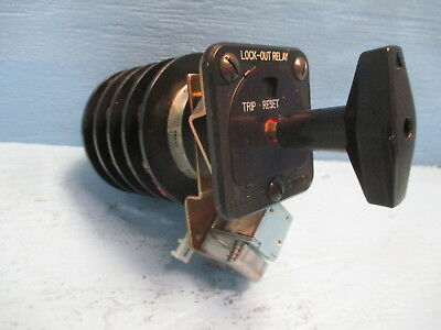 Electroswitch 7803d 20a 600v Rotary Switch Series 24 Lock Out Relay Trip Reset