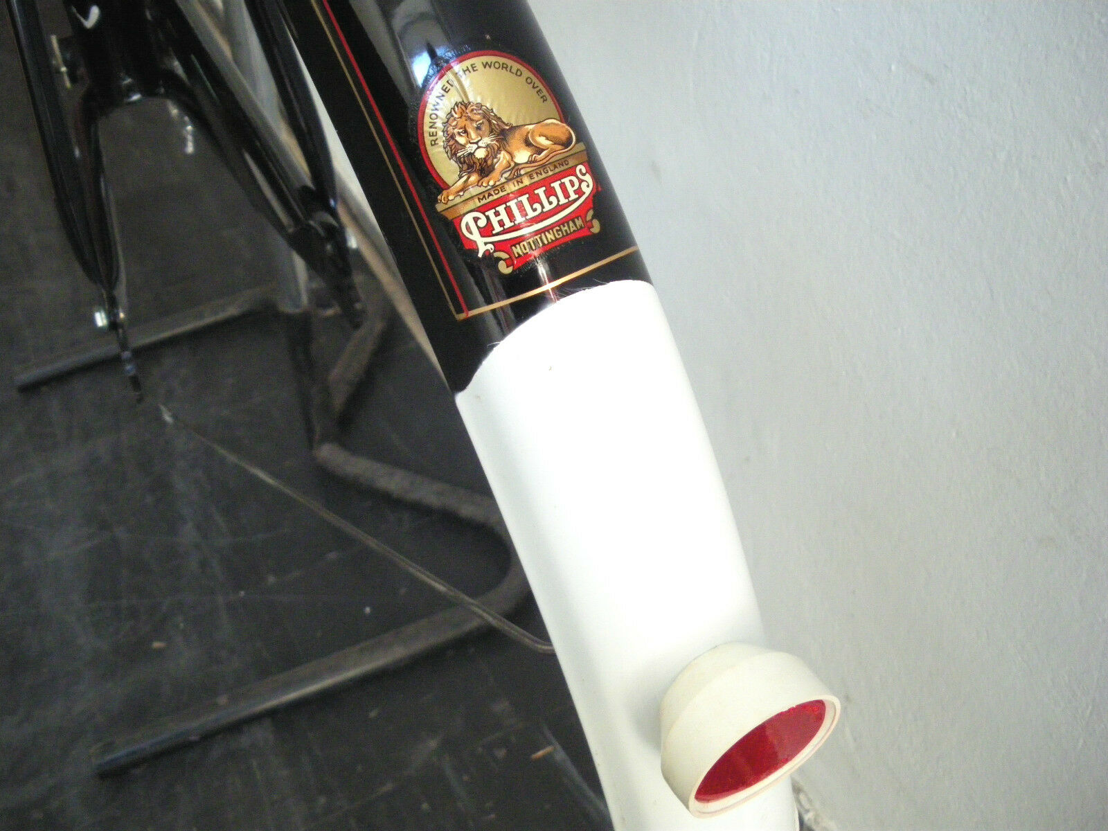 vintage phillips bicycle frame roaster dtt set 22 for 28 wheels nos 5 5 of 11