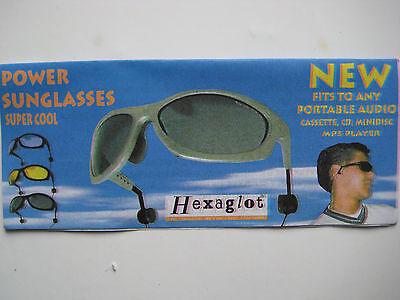 Sonnenbrille mit Kopfhörer