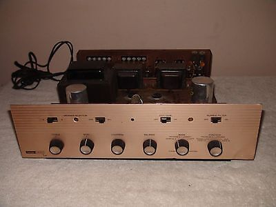 Vintage Harman Kardon A224 Stereo Integrated Amplifier Needs Tubes