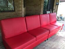 Leather sofa x 2 Cooloongup Rockingham Area Preview