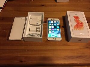 Iphone 6S 16gig rose gold comme neuf aucune egratinure