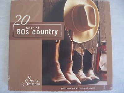 20 Best of 80s Country by The Countdown Singers (CD, Jan-2004, (Best Country Singers Of The 80s)