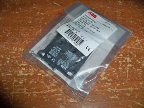 ABB Control - AUXILARY CONTACT BLOCK -- ***SK 829 002 - B*** -- New In Bag 1604