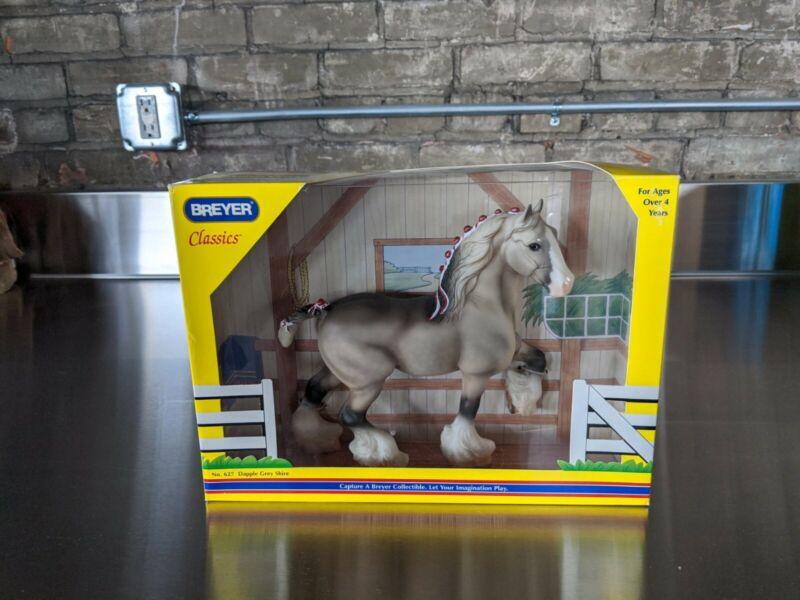Breyer Classics - #627 - Dapple Grey Shire Horse