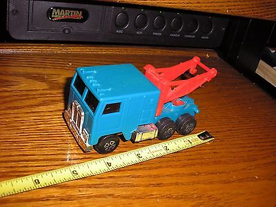 """Nice Jimmy Toys 4 1/4"""" Friction Driven Cab Over Semi Tractor Tow Truck Wrecker  for sale  Shipping to Canada"""