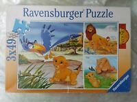 3 x 49 Teile Puzzle von Ravensburger,  komplett Hessen - Lautertal Vorschau