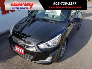 2017 Hyundai Accent GLS SUNROOF, HEATED SEATS, BLUETOOTH