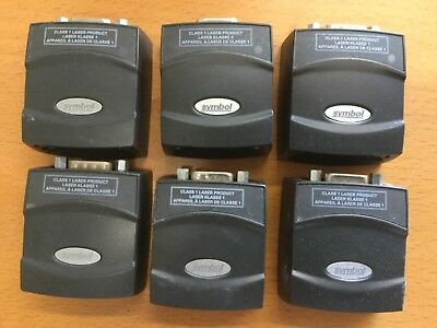 Lot Of 6 Symbol Ms4407-1000r Barcode Scanner Free Shipping