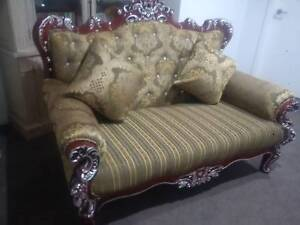 Baroque Style Lounge, 3 Seater, Custom Built, New. Ottoman Pitt Town Hawkesbury Area Preview