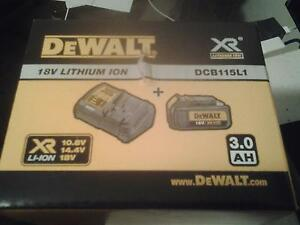 Dewalt 18v charger and 3.0ah battery kit brand new Revesby Bankstown Area Preview