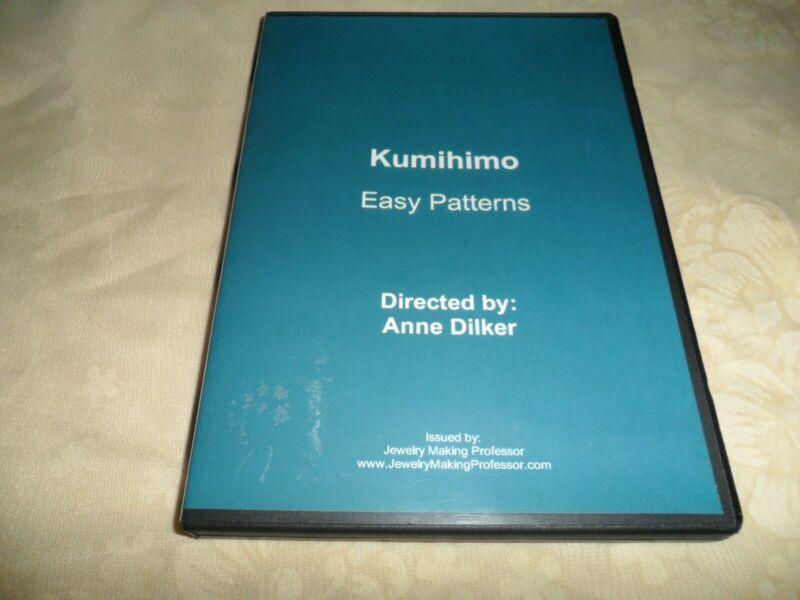 Kumihomo Braiding DVD - Easy Patterns by Anne Dilker, Jewelry Making