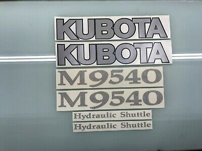 Kubota M9540 Tractor decals for sale  Shipping to India