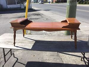 Unique Gibbard coffee table with matching end table $90.00