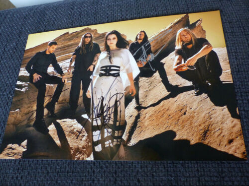 EVANESCENCE Amy Lee signed Autogramm auf 20x30 cm Foto InPerson SELTEN