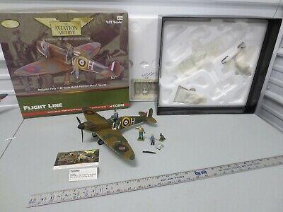 CORGI Aviation Archive 1/32 Spitfire Mk IA - George Grumpy Unwin w/ Box Limited