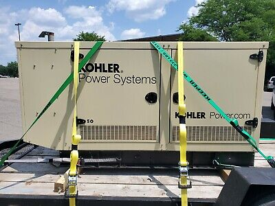 Kohler Power Systems 50 Kw 50rezgb Standby Generator 150 Amps 3 Phase 120240
