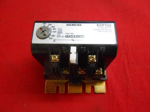 SIEMENS  48ASX3M20  THERMAL OVERLOAD RELAY - NEW IN BOX