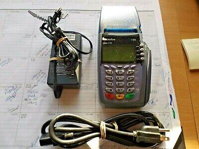 Verifone Omni 3730 Le Credit Card Machine Working Slightly Used