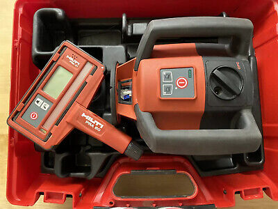 Hilti Pre 3 Pulse Power Rotary Laser Level Wpra 31 Receiver Case