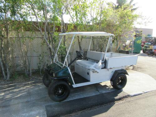 Club Car Carryall Turf 252 Electric Dump Body Sun Roof Golf Cart Brush Guard