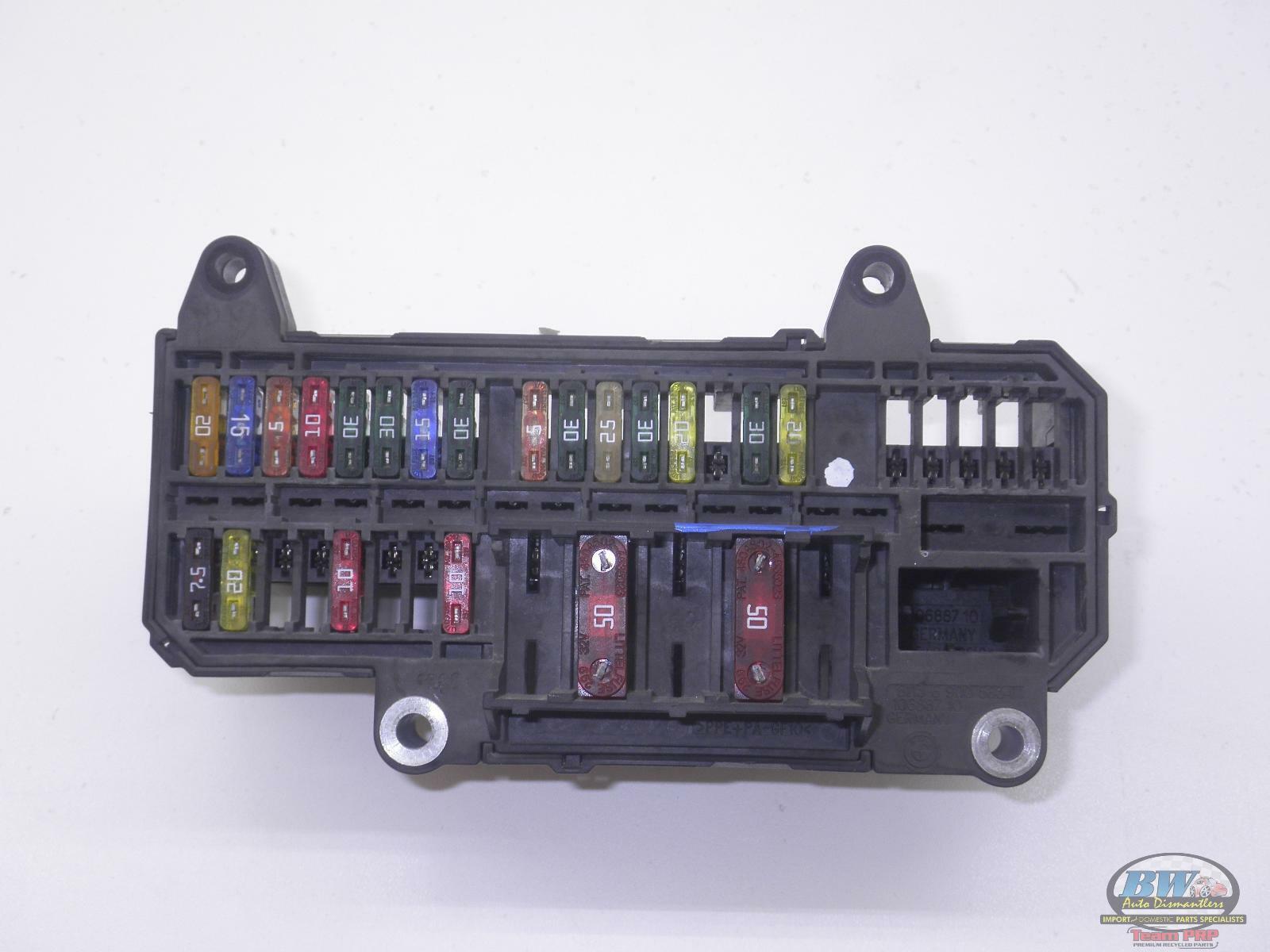 61136900583  Bmw 745i E66 Oem Trunk Fuse Box 02 03 04 05
