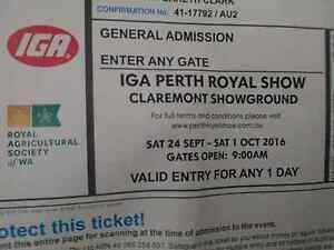 Royal Show Ticket Perth Perth City Area Preview