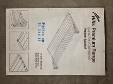 Foldable - wall mounted clothes hanger drier Collingwood Yarra Area Preview