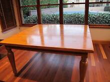 8 seat Solid Timber Dining setting Gladesville Ryde Area Preview