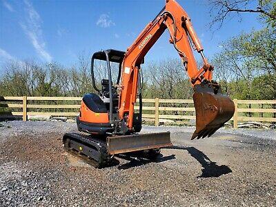 2017 Kubota U25 Mini Excavator Excellent Condition