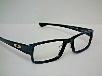 Authentic Oakley OX8046-0253 Black Ink AIRDROP Eyeglasses Frame $230