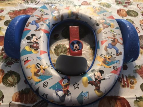 mickey mouse and friends cushioned potty toilet