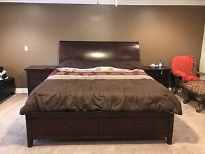 9 Piece King - Solid Wood Bedroom Suite