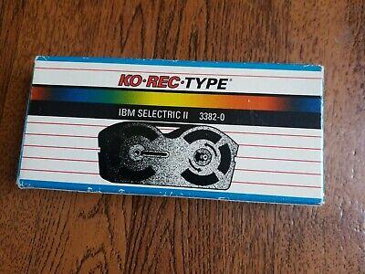 Ibm Correcting Selectric Ii Typewriter Ribbon Nos Korec Type 3382-0